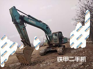 山东-枣庄市二手神钢SK250-8挖掘机实拍照片