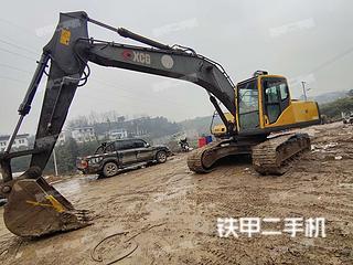 湖南-湘西土家族苗族自治州二手约翰迪尔E210LC挖掘机实拍照片