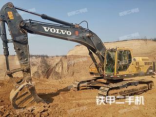 河南-三门峡市二手沃尔沃EC360BLC挖掘机实拍照片