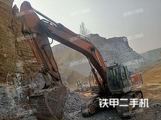 山东-菏泽市二手日立ZX330-3G挖掘机实拍照片