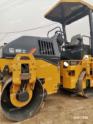 陕西-西安市二手柳工CLG6032E压路机实拍照片