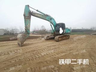 湖北-随州市二手神钢SK210LC-8挖掘机实拍照片