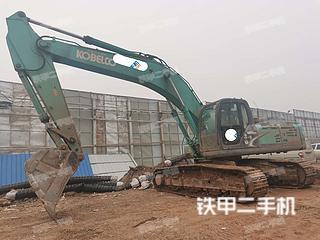 四川-内江市二手神钢SK350LC-8挖掘机实拍照片
