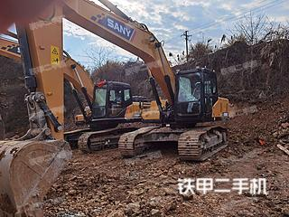浙江-绍兴市二手三一重工SY205C挖掘机实拍照片