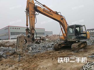二手现代 R215-7C 挖掘机转让出售