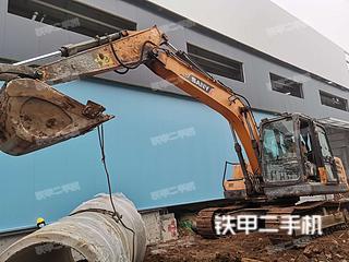 山东-临沂市二手三一重工SY135C挖掘机实拍照片