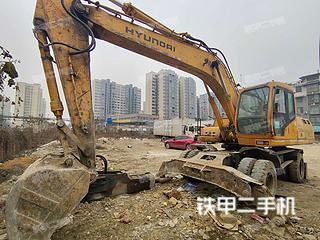 二手现代 R210W-5 挖掘机转让出售