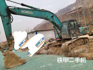 甘肃-庆阳市二手神钢SK250LC挖掘机实拍照片
