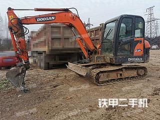 四川-成都市二手斗财DE60-9S挖掘机实拍照片