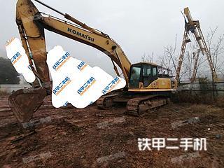 四川-南充市二手小松PC350LC-7挖掘机实拍照片