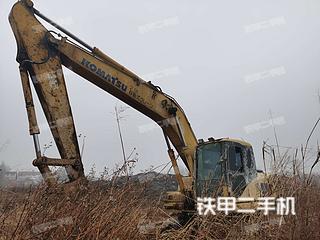 湖北-孝感市二手小松PC200-7挖掘机实拍照片