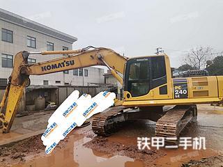 湖南-长沙市二手小松PC240LC-8M0挖掘机实拍照片