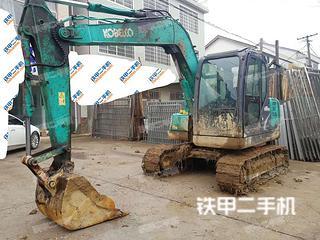 湖南-常德市二手神钢SK75-8挖掘机实拍照片