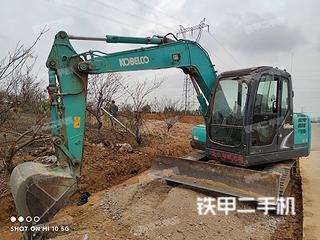 广西-南宁市二手神钢SK75-8挖掘机实拍照片