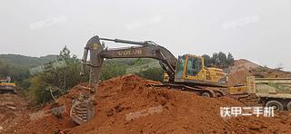 江西-景德镇市二手沃尔沃EC360BLC挖掘机实拍照片
