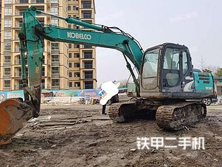 湖北-潜江市二手神钢SK140LC-8挖掘机实拍照片