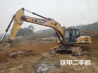 四川-绵阳市二手三一重工SY245H挖掘机实拍照片