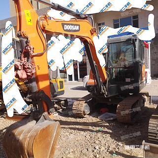 山西-大同市二手斗山DX55-9CN挖掘机实拍照片