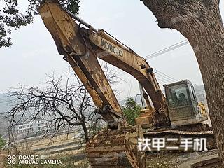 湖南-衡阳市二手神钢SK260LC-8挖掘机实拍照片