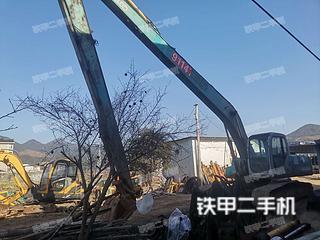 浙江-台州市二手神钢SK250LC挖掘机实拍照片