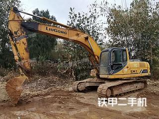 梧州柳工CLG925D挖掘机实拍图片