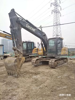 陕西-咸阳市二手约翰迪尔E130挖掘机实拍照片