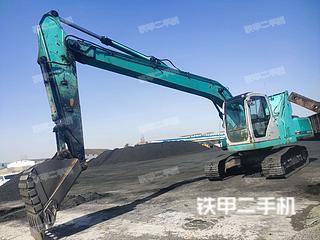 神鋼SK210-6E挖掘機實拍圖片