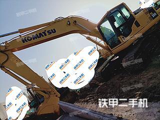 山东-济宁市二手小松PC200-8挖掘机实拍照片