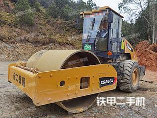 江西-上饶市二手徐工XS263J压路机实拍照片