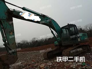 湖北-武汉市二手神钢SK210LC-8挖掘机实拍照片
