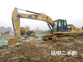 江苏-南京市二手卡特彼勒320D2-GC液压挖掘机实拍照片