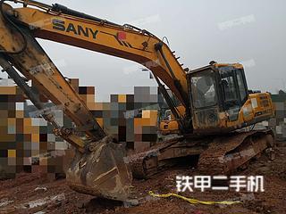 湖南-湘潭市二手三一重工SY135C挖掘机实拍照片