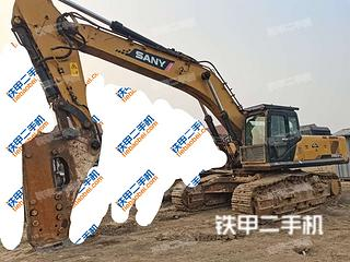 三一重工SY465H挖掘機實拍圖片