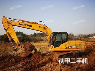 江西-九江市二手龙工LG6215挖掘机实拍照片
