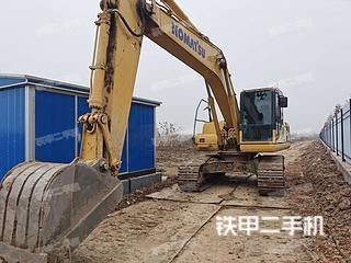 湖北-武汉市二手小松PC200-8M0挖掘机实拍照片