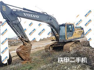 贵州-贵阳市二手沃尔沃EC210B挖掘机实拍照片
