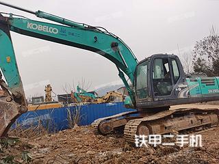 四川-绵阳市二手神钢SK260LC-8挖掘机实拍照片