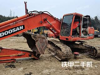 四川-成都市二手斗山DH225LC-7挖掘机实拍照片