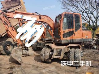 重庆-重庆市二手新源XY75W-8挖掘机实拍照片