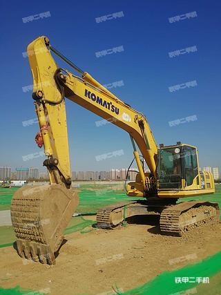 陕西-西安市二手小松PC240LC-8M0挖掘机实拍照片
