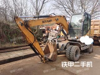 重庆-重庆市二手新源XY75W-9挖掘机实拍照片