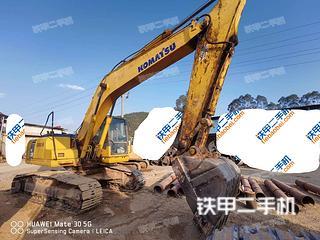 广西-南宁市二手小松PC200-7挖掘机实拍照片