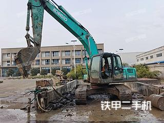 江苏-南京市二手神钢SK210LC-8挖掘机实拍照片