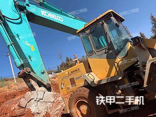 云南-文山壮族苗族自治州二手神钢SK260LC-8挖掘机实拍照片