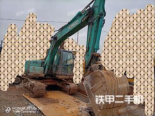 湖北-恩施市二手神钢SK130-8挖掘机实拍照片