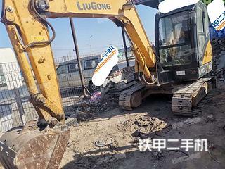 河北-邢台市二手柳工CLG906D挖掘机实拍照片