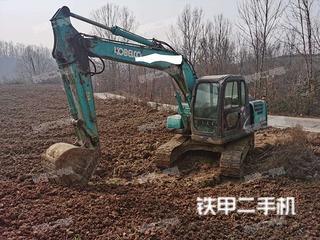 陕西-汉中市二手神钢SK130-8挖掘机实拍照片