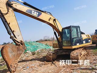 武汉卡特彼勒320D液压挖掘机实拍图片