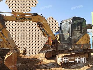 江西-九江市二手柳工CLG906D挖掘机实拍照片