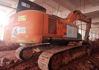 二手日立挖掘机整机右后45°实拍图367